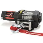 Electric Winch Waterproof 3500LBS Steel Cable Line w/ Remote Control for ATV UTE image
