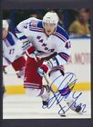 New York Rangers Autographed 8x10 Photos c/w COA Choose Single Photos NHL Hockey $4.5 CAD on eBay