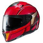 HJC i70 DC Comics The Flash Gloss Red Full Face Motorcycle Crash Helmet New