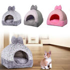 Pet Cat Dogs Igloo Houses Fleece Soft Warm Luxury-Washable Sleeping Cave Bed