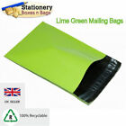 STRONG NEON GREEN Mailing Bags 4.5 x 6.5