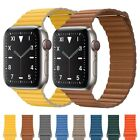 Magnetic Leather Strap For Apple Watch Band 42mm 38mm 44mm 40mm Series 5 4 3 2 1 image