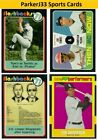 2020 Topps Heritage Inserts  New Age Performers,Flashbacks Then and Now You Pick