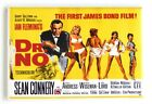 "Dr. No FRIDGE MAGNET movie poster ""style B"" james bond $7.95 USD on eBay"