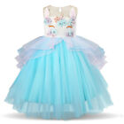 Unicorn Dress Kids Dresses For Girls Birthday Party Princess Girl