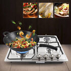 5 / 4 Burners Built-In Stove Top Gas Cooktop Iron Burner Kitchen Gas Cooking  photo