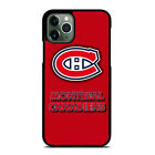 MONTREAL CANADIENS iPhone 6/6S 7 8 Plus X/XS Max XR 11 Pro Case Cover $15.9 USD on eBay