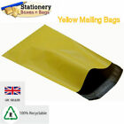STRONG YELLOW Mailing Bags 12
