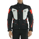 Dainese Carve Master 2 D-Air Black Grey Textile Air Bag Motorcycle Jacket New