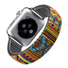 For Apple Watch Iwatch Elastic Stainless Steel Stretch Watch Strap Band 40 44MM image