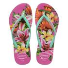 Havaianas NEW Women's Slim Floral - Hollywood Rose BNWT