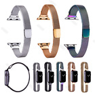 38 40 42 44mm Wrist Strap For Apple watch Iwatch Slim Narrow Milanese Loop Band image