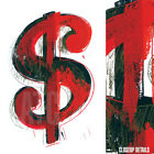 "24W""x36H"" DOLLAR SIGN by ANDY WARHOL - MONEY CURRENCY EXCHANGE CHOICES of CANVAS"