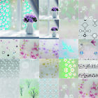 3D Static Cling Cover Frosted Window Glass Film DIY Sticker Privacy Decor Decals $11.69 USD on eBay