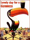Lovely Day For A Guinness Toucan Weathervane Vintage Poster Print Bar Decor