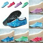 Men Women Water Shoes Barefoot Quick-Dry Beach Yoga Swim Sports Exercise Socks