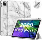 """For Apple iPad Pro 11"""" 2020 Smart Case Soft TPU Cover Stand with Pencil Holder"""