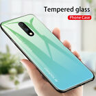 For OPPO F11pro/R19 R17pro Tempered Glass Gradient Slim Protective Case Cover