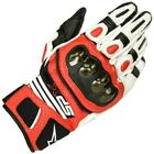 Alpinestars SP-X Air Carbon V2 Glove Black Leather Race Motorcycle Gloves New