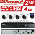 HIKVISION SECURITY SYSTEM 4CH 4 CAMERAS KIT HD PIR  DVR 1080P (1TB HARD DISK) for sale  Shipping to Nigeria