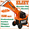 More images of Eliet Maestro City Electric 3.5hp 2500w Chipper Shredder Mulcher Composter 40mm