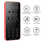 Universal External Audio Microphone Live Broadcast Sound Card for iOS Android PC