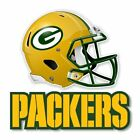Green Bay Packers Football Helmet Decal / Sticker Die cut Logo Vinyl Footbal $6.75 USD on eBay
