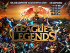 League Of Legends NA Account Champions 10-40 Lv30+