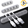 More images of 3-Pack Cable Holder Clips, Desktop Cable Organizer Cord Wire Management for USB