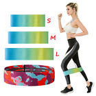 S/M/L Resistance Band Loop Crossfit Fitness Yoga Booty Leg Workout Exercise Gym image
