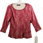 Ivanka Trump Women's Long Sleeve Red Blouse | Size M | NWT