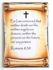 Romans 8:38 Bible Verse FRIDGE MAGNET christian catholic