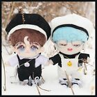 Beret Overalls Suit 20cm Doll Clothes  Glasses For Star Idol Doll Accessory FR