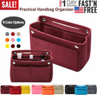 Felt Purse Handbag Organizer Insert Multi pocket Storage Tote Shaper Liner Bag image