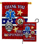 First Responders Garden Flag Armed Forces Service Decorative Yard House Banner