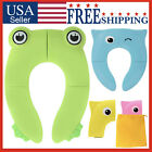 Potty Seat Folding Training Travel Portable Toilet Cover Pad Baby Toddler Kids image