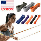 Resistance Bands Exercise Sports Loop Set Fitness Home Gym Yoga Latex Pull Up US image
