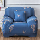 USA Floral 1-4 Seater Slipcover Stretch Chair Sofa Couch Cover Elastic Protector