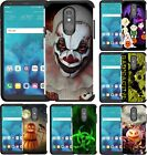 For LG Stylo 5 Slim Hybrid Case Dual Layer Phone Cover Halloween Scary Clown
