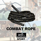 Combat Rope Battle Ropes 9m,12m,15m,18m Strength Training Exercise Workout