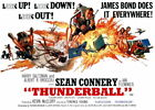 100655 Thunderball Movie Collector Decor LAMINATED POSTER CA $19.95 CAD on eBay
