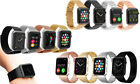Replacement Bracelet Bands for Apple iWatch Metal Straps 38/42mm