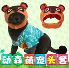 Animal Crossing Tom Nook Timmy Tommy Isabella Cat Clothes Shirt Hat Pet Costume