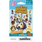 Animal Crossing Amiibo Cards Series 1 & 3 Sealed Pack of 6 Cards Nintendo