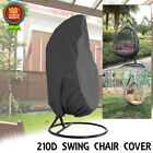 210D Hanging Hammock Garden Swing Chair Stand Seat Cover Waterproof Protection