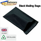 STRONG BLACK Mailing Bags 6.5
