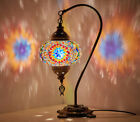 12 Turkish Moroccan Mosaic Bohemian Colorful Table Bedside Lamp Light Lampshade