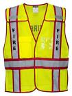 Portwest Public Safety Vest Yellow//Red US387 Case of 10