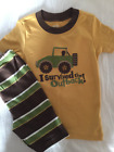 NWT Gymboree I Survived the Outback Jeep Shortie Gymmies Sleep Set Pajamas 3 3T