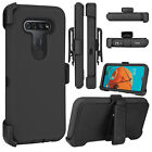 For LG K51 / Reflect Phone Case Hybrid Shockproof TPU Stand Clip Holster Cover